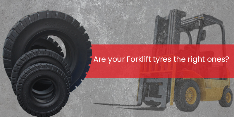 Are your forklift tyres the right ones